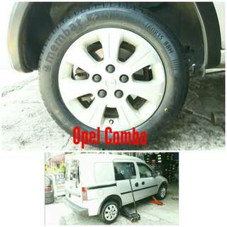 Tyre 185/60 R15 Membat on Opel Combo 🐓 Super Offer 🙋♂️
