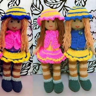 Amigurumi Barbie Doll