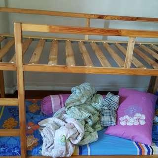 Ikea pine bunk bed