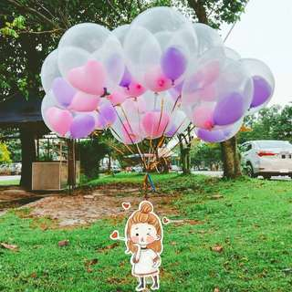 Helium balloons for special occassions