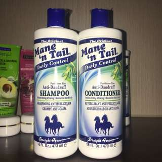 Mane 'n Tail shampoo + conditioner anti-dandruff