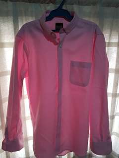 Pink Long Sleeves (M)