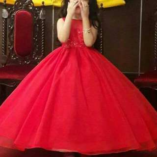 Red ball gown for sale