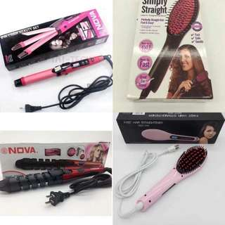 Buy 1 Get 1 Hair straightener / curler