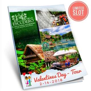 Valentines Date Tour @VILLA Escudero Free Lunch Buffet at Falls