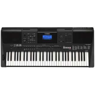 Brand new Yamaha PSR-E453 Portable Keyboard + $12 keyboard stand (preorder, limited time)