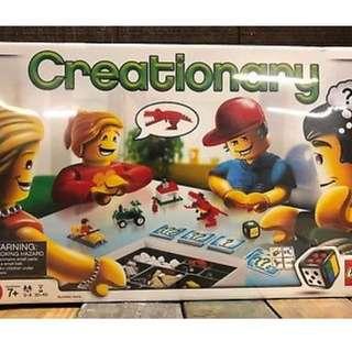 全新未開盒 Lego 3844 creationary games
