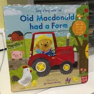 Brand new Sing along with me! Old Macdonald had a farm.