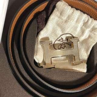 Hermes H belt 香港購買 原價出售 有單 Guillochee valentines 情人節 Box Togo