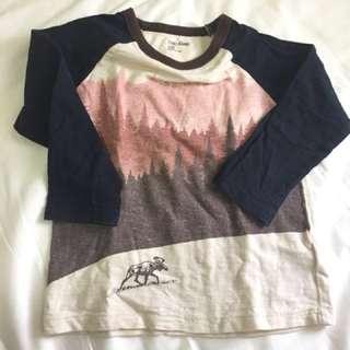 Baby gap long sleeves top
