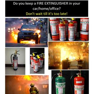 Fire Extinguisher Brand New / Refill
