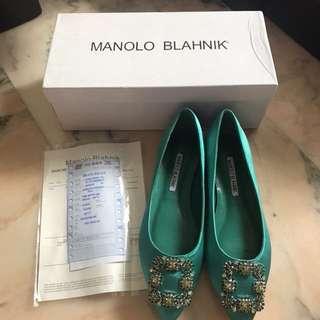 Manolo Blahnik Flats
