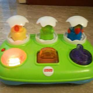 Fisherprice toy with lights and music for 6m+