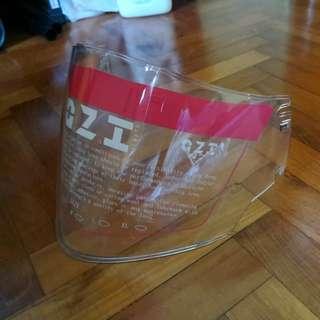 Helmet VISOR@OZI 67(clear)2pcs