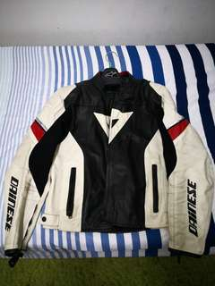 Dainese original perforated leather jacket