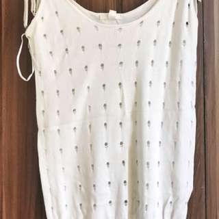Sleeveless rajut bolong2