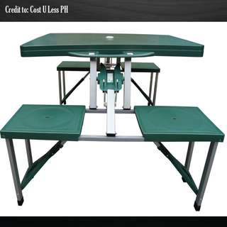 SUMO™ Deluxe Folding Picnic Table