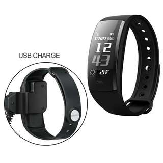 🆒🆕 QS90 Smart Wristband Bracelet Bluetooth Heart Rate Monitor Pedometer Waterproof IP67 Health Sports Fitness for Android