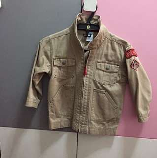 Old Navy brown jacket for kids