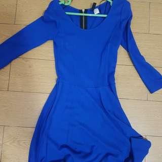 Hnm Blue Dress