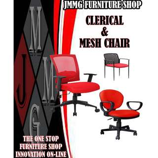 CLERICAL & MESH CHAIRS ( FACTORY PRICE )