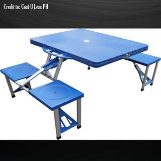 SUMO™ Deluxe Folding Picnic Table