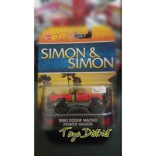 hotweels simon & simon power wagon