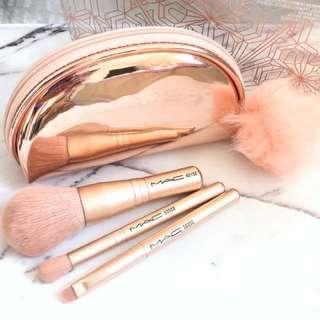 MAC snow ball collection mini makeup brush set LIMITED EDITION