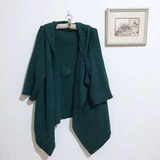 🚚 韓版綠色大衣