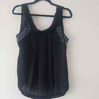 Sleeveless Blouse size L