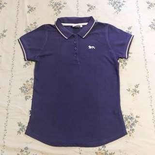 Lonsdale Purple Shirt