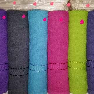 Towels cheap 6 pcs bath towels
