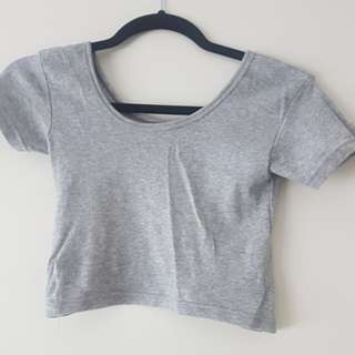 Grey cotton crop size S