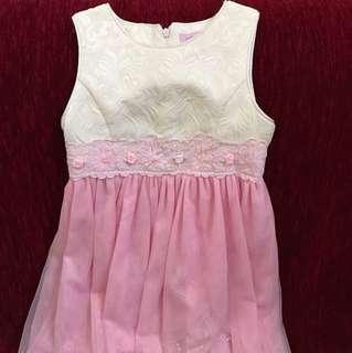 Pink Heart Dress (6-7Y)