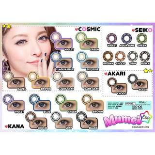 Mumei Dolly Contact Lens Cosmic and Kana Series
