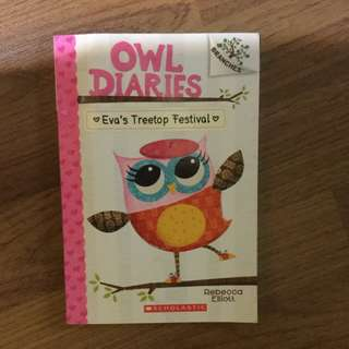 Scholastic Children Book - Owl Diaries