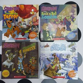 Scooby - Doo ( 4 assorted titles)