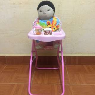 Baby Highchair for Doll