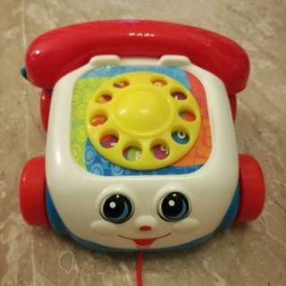 Fisherprice walk along telephone set for toddlers