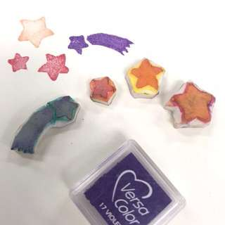Handmade Twinkle Little Star Stamp (3pcs set)