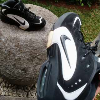 14e11eac6d12 Sepatu Basket Nike Air Way Up not Jordan Kobe Lebron KD Shaq Curry Harden  Reebok Pump