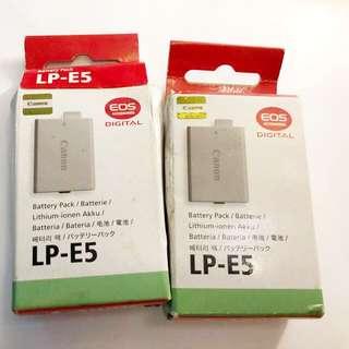 Canon LP-E5 原裝電池