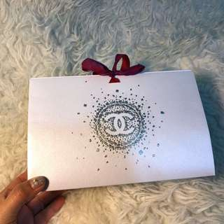 Chanel Christmas Edition Paperbox