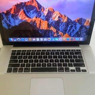 "MacBook Pro 15"" (late 2011)"