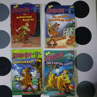 Scoopy-Doo assorted titles (4titles =4books)