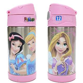 Thermos Funtainer 12 Ounce Water Bottle, Disney Princess