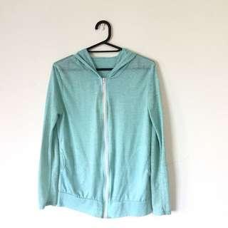 🚚 淺綠薄外套