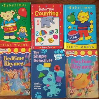 Essential books for 1 to 4 yrs old