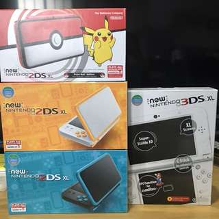ALL Consoles Modding Service 3DS XL 2DS XL LL