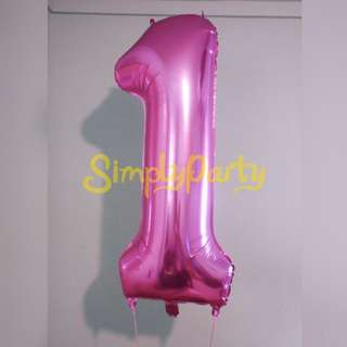 "40"" NUMBER FOIL BALLOON"